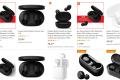 Xiaomi Redmi AirDots - Auricolari Bluetooth V5.0, stereo, Bluetooth, con stazione di ricarica magnetica