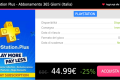 1 anno di Playstation Plus a soli 44.99€ al posto di 59.99€!