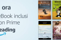 Amazon Prime Reading: inclusi con l'abbonamento migliaia di libri in formato ebook