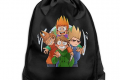 KAKALINQ  ◆Edds-World ◆ Gym Bag Drawstring Backpack for Men & Women- Zainetto