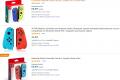 Controller Nintendo Switch | Joy-Con Nintendo Switch Set da 2 Joystick, Viola Neon e Arancione Neon