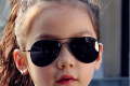 Classic Sunglasses Girls 👧🏻 Colorful Mirror