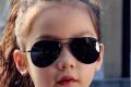 Classic Sunglasses Girls 👧🏻 Colorful Mirror