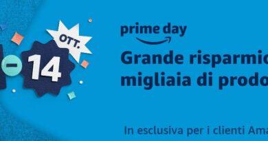 Amazon Prime Day! il 13 e il 14 ottobre si fanno affaroni! Iscriviti subito!