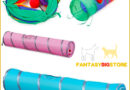 Funny Pet Cat Tunnel with 3/4 Holes | Collapsible game | Kitten Toys
