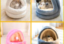 Cozy and comfortable pet bed for your cat  Your pet will love it!