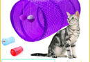 FUN TUNNEL™ Cat's game  Resealable tunnel  Double entry  Different colors combinable