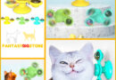Turn Girella™ | Spinner toy for cats | With catnip