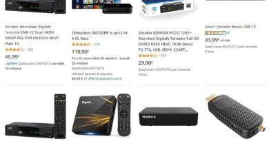 Decoder DVB-T2 HD Nuova Generazione – Scegli il tuo | New Generation – Choose yours